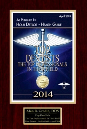 Top Dentist 2014- Dr. Grodin in Michigan
