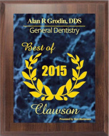 Best Dentist 2015- Alan Grodin DDS Detroit